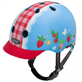 Nutcase Little Nutty Street Fietshelm Kinderen, berry sweet